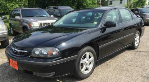 2003 Chevrolet Impala for sale at Knowlton Motors, Inc. in Freeport IL