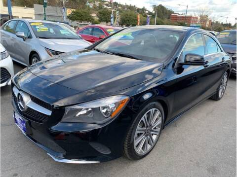 2018 Mercedes-Benz CLA for sale at AutoDeals in Daly City CA