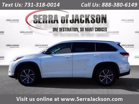 2018 Toyota Highlander for sale at Serra Of Jackson in Jackson TN