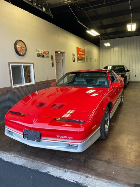 1986 Pontiac Firebird for sale at MJ'S Sales in Foristell MO
