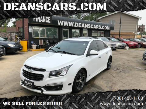 2016 Chevrolet Cruze Limited for sale at DEANSCARS.COM in Bridgeview IL