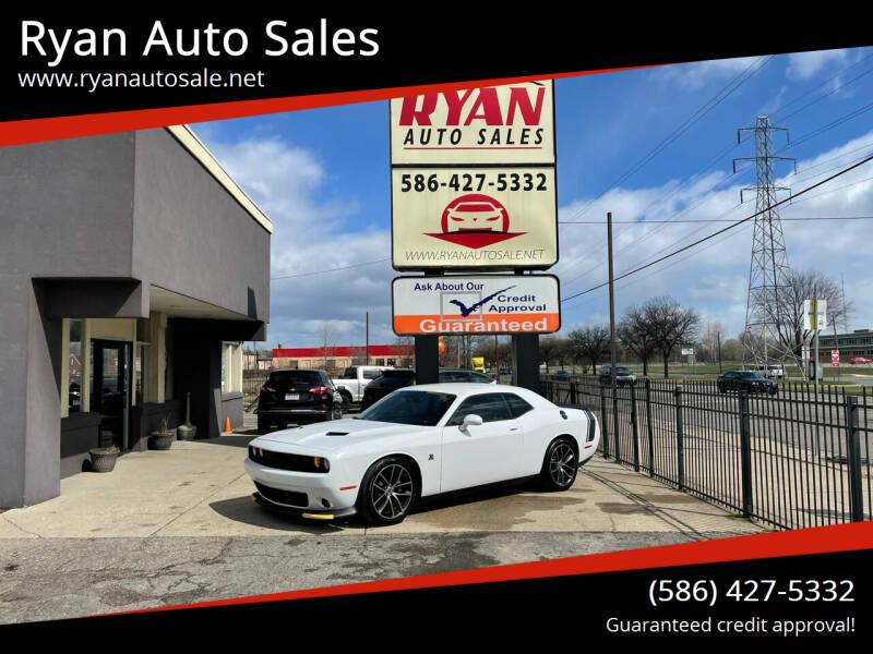 2018 Dodge Challenger for sale at Ryan Auto Sales in Warren MI