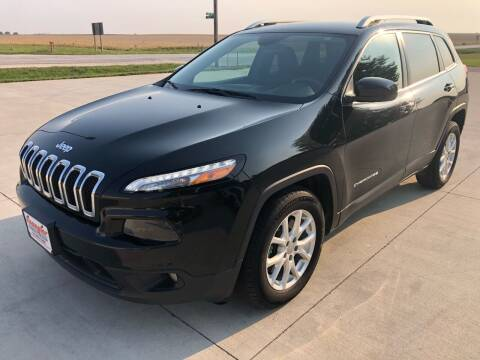 2015 Jeep Cherokee for sale at SPANGLER AUTOMOTIVE in Glidden IA