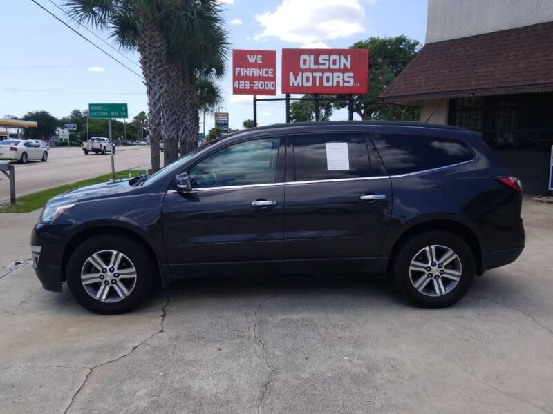 2015 Chevrolet Traverse for sale at Olson Motors LLC in Saint Augustine FL