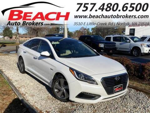2017 Hyundai Sonata Hybrid for sale at Beach Auto Brokers in Norfolk VA