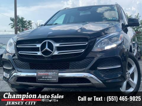 2016 Mercedes-Benz GLE for sale at CHAMPION AUTO SALES OF JERSEY CITY in Jersey City NJ