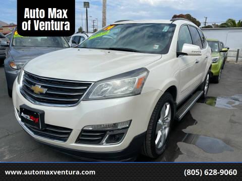 2014 Chevrolet Traverse for sale at Auto Max of Ventura in Ventura CA