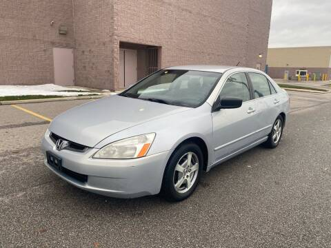 2005 Honda Accord for sale at JE Autoworks LLC in Willoughby OH