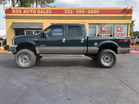2004 Ford F-250 Super Duty for sale at BSS AUTO SALES INC in Eustis FL