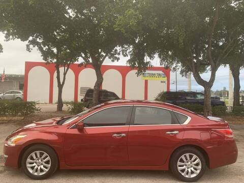 2013 Nissan Altima for sale at Eden Cars Inc in Hollywood FL