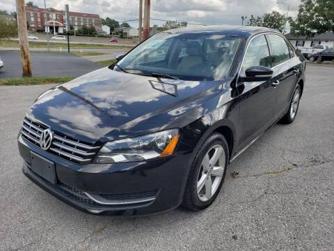 2013 Volkswagen Passat for sale at Auto Hub in Grandview MO