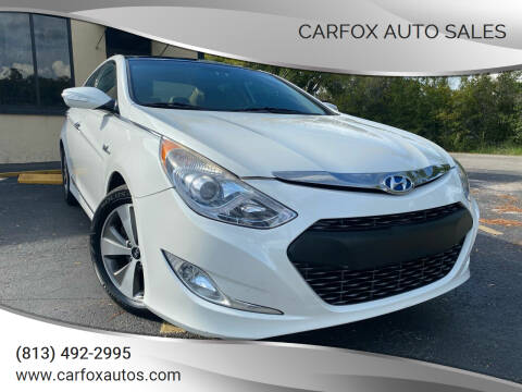 2011 Hyundai Sonata Hybrid for sale at Carfox Auto Sales in Tampa FL
