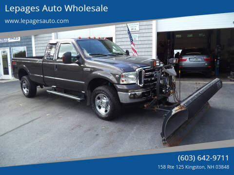 2006 Ford F-350 Super Duty for sale at Lepages Auto Wholesale in Kingston NH