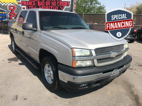 2006 Chevrolet Avalanche for sale at Rock Star Auto Sales in Las Vegas NV
