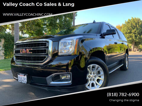 2017 GMC Yukon XL for sale at Valley Coach Co Sales & Lsng in Van Nuys CA