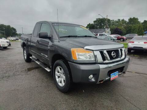 2011 Nissan Titan for sale at Peter Kay Auto Sales in Alden NY