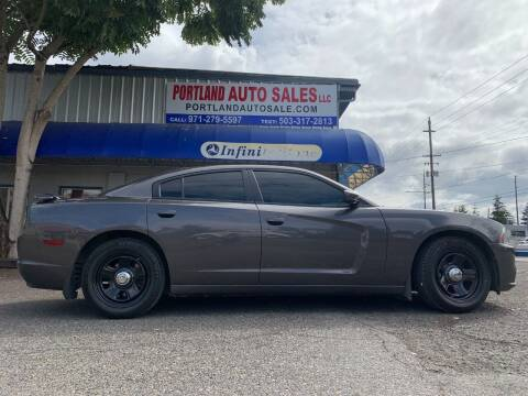 2013 Dodge Charger for sale at PORTLAND AUTO SALES LLC. in Portland OR