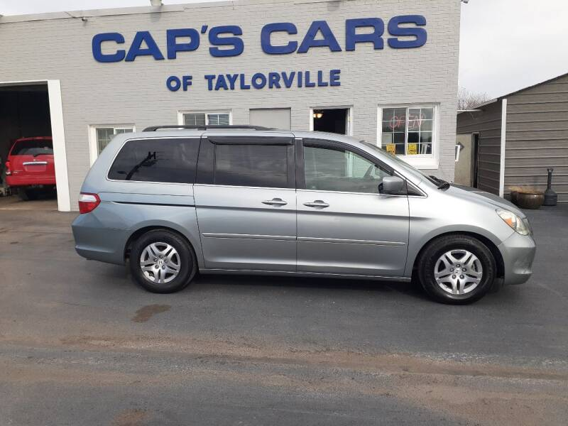 2007 Honda Odyssey for sale at Caps Cars Of Taylorville in Taylorville IL