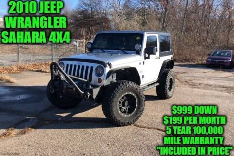 2010 Jeep Wrangler for sale at D&D Auto Sales, LLC in Rowley MA