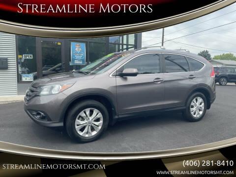 2012 Honda CR-V for sale at Streamline Motors in Billings MT