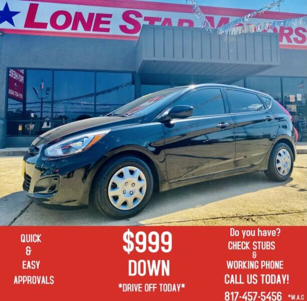 2017 Hyundai Accent for sale at LONE STAR MOTORS II in Fort Worth TX