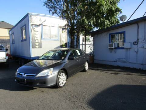 2007 Honda Accord for sale at ARISTA CAR COMPANY LLC in Portland OR