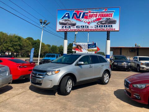 2011 Ford Edge for sale at ANF AUTO FINANCE in Houston TX