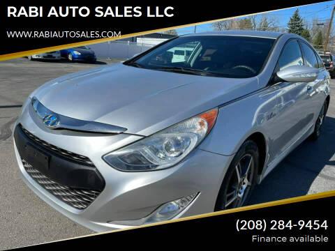 2011 Hyundai Sonata Hybrid for sale at RABI AUTO SALES LLC in Garden City ID