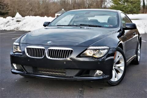 2008 BMW 6 Series for sale at Speedy Automotive in Philadelphia PA