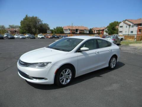 2015 Chrysler 200 for sale at INVICTUS MOTOR COMPANY in West Valley City UT