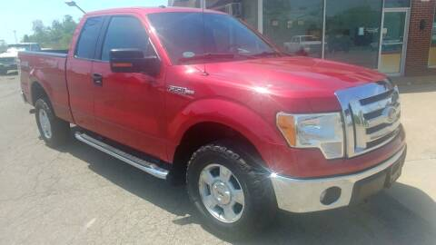 2011 Ford F-150 for sale at AutoBoss PRE-OWNED SALES in Saint Clairsville OH