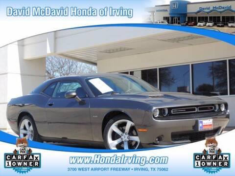 2017 Dodge Challenger for sale at DAVID McDAVID HONDA OF IRVING in Irving TX
