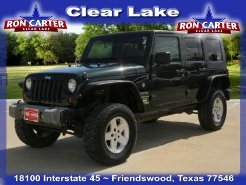 2010 Jeep Wrangler Unlimited for sale at Ron Carter  Clear Lake Used Cars in Houston TX