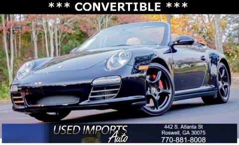 2009 Porsche 911 for sale at Used Imports Auto in Roswell GA
