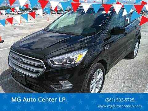 2019 Ford Escape for sale at MG Auto Center LP in Lake Park FL
