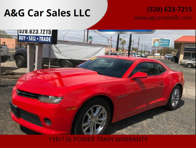2014 Chevrolet Camaro for sale at A&G Car Sales  LLC in Tucson AZ