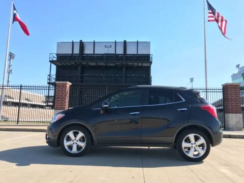 2015 Buick Encore for sale at ALL AMERICAN FINANCE AND AUTO in Houston TX