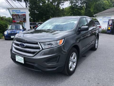 2018 Ford Edge for sale at Sports & Imports in Pasadena MD
