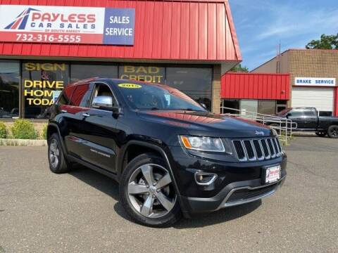2015 Jeep Grand Cherokee for sale at PAYLESS CAR SALES of South Amboy in South Amboy NJ