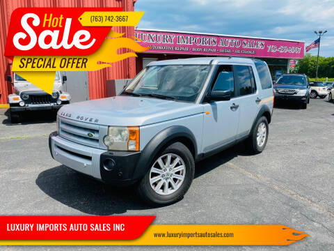 2008 Land Rover LR3 for sale at LUXURY IMPORTS AUTO SALES INC in North Branch MN