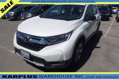 2018 Honda CR-V for sale at Karplus Warehouse in Pacoima CA