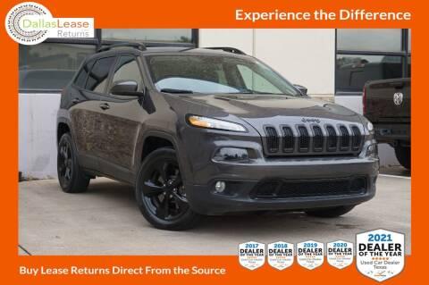 2018 Jeep Cherokee for sale at Dallas Auto Finance in Dallas TX