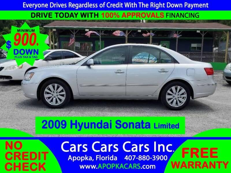 2009 Hyundai Sonata for sale at CARS CARS CARS INC in Apopka FL