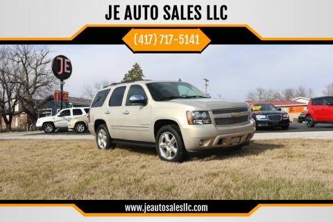 2009 Chevrolet Tahoe for sale at JE AUTO SALES LLC in Webb City MO