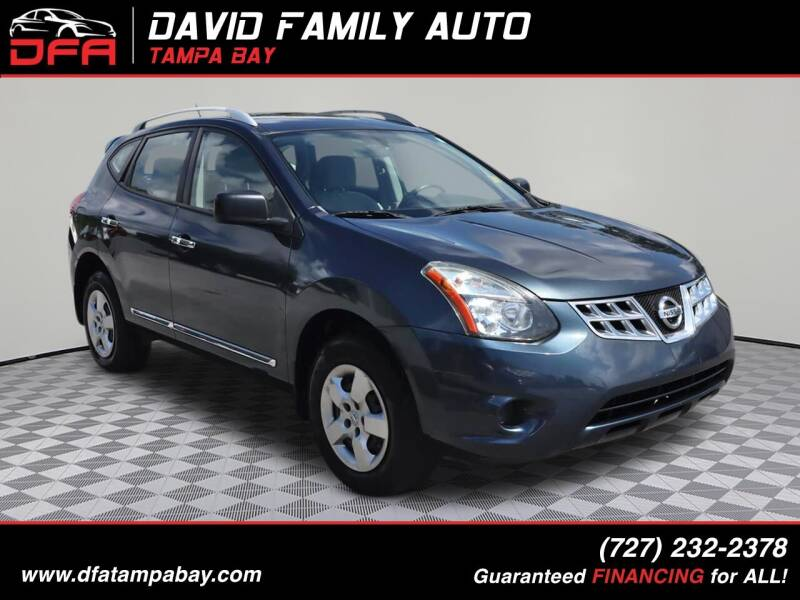 2014 Nissan Rogue Select for sale at David Family Auto, Inc. in New Port Richey FL