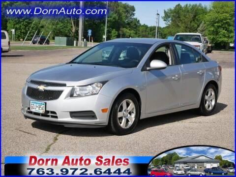 2013 Chevrolet Cruze for sale at Jim Dorn Auto Sales in Delano MN