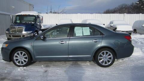 2011 Lincoln MKZ for sale at Superior Auto of Negaunee in Negaunee MI