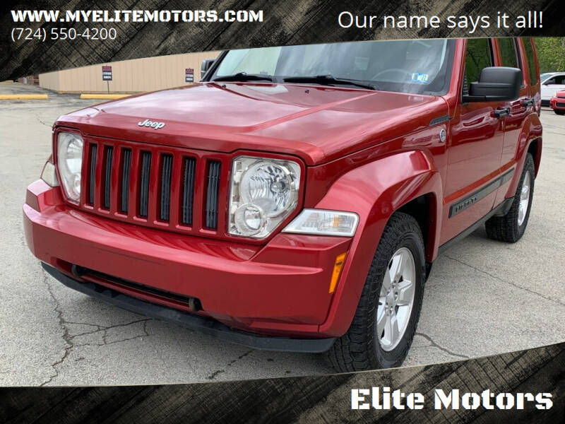 2010 Jeep Liberty for sale at Elite Motors in Uniontown PA