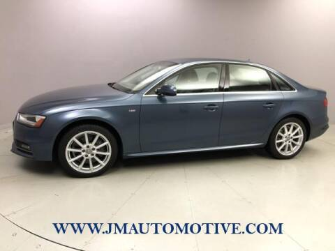 2016 Audi A4 for sale at J & M Automotive in Naugatuck CT