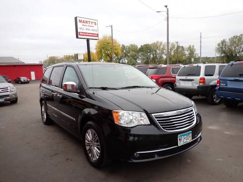 2013 Chrysler Town and Country for sale at Marty's Auto Sales in Savage MN